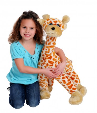 Plush Giraffe Set
